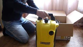 Видео обзор  Мойка высокого давления Karcher K5 Compact