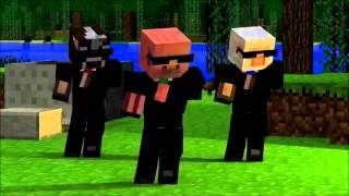 minecraft музыкальный клип 4