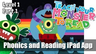 #1 Teach Your Monster to Read - Phonics and Reading - First Steps - Part 1