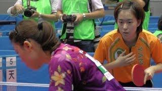 第68回国民体育大会 スポーツ祭東京2013 卓球【府中 郷土の森総合体育館】