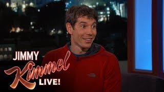 Rock Climber/Crazy Person Alex Honnold on Free Soloing El Capitan