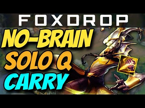 The Brainless SoloQ Carry - Master Yi Jungle | How to Carry #18 League of Legends