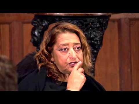 Dame Zaha Hadid | Full Q&A | Oxford Union | acclaimed female architect dies aged 65