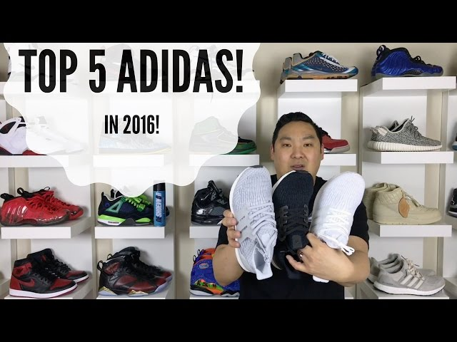TOP 5 ADIDAS SHOES 2016 - YouTube