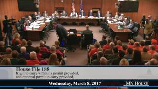 House Public Safety and Security Policy and Finance Committee  3/8/17