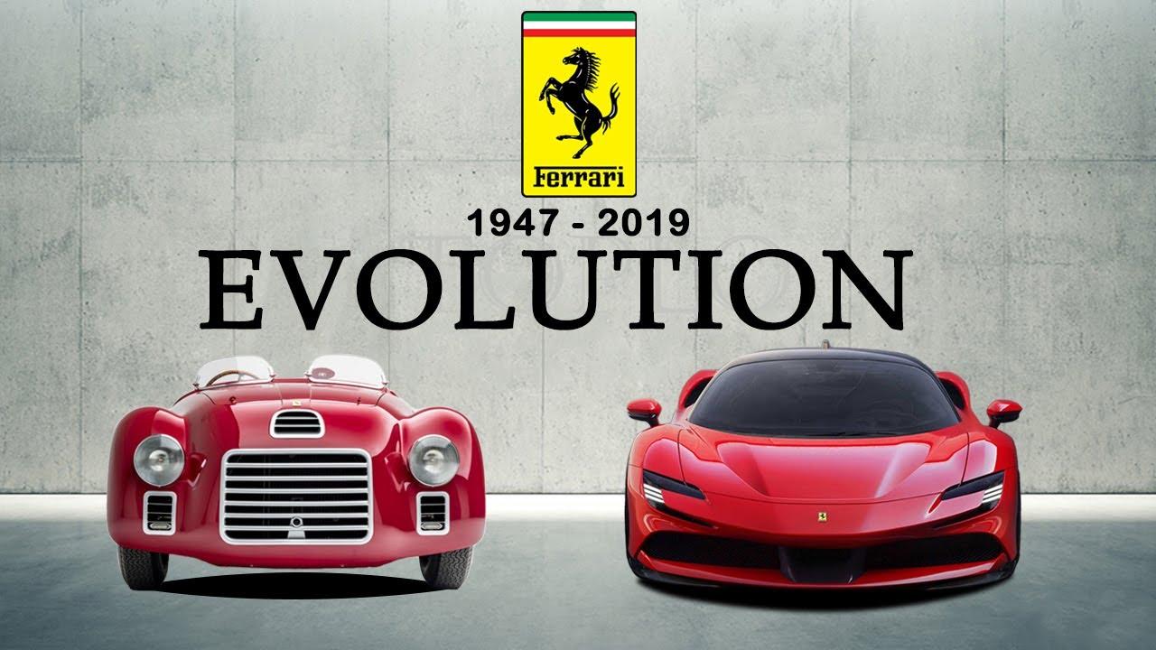 Ferrari Evolution 1947 2020 Youtube