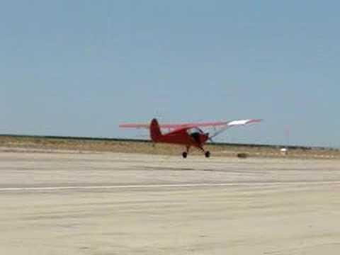 Aeronca 65-TC Wheel Landing