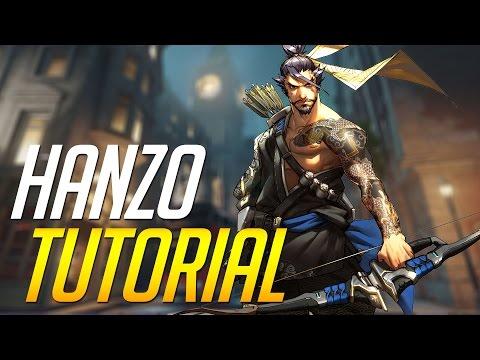Como ser mejor Sniper con Hanzo | Guía/Tutorial |  OVERWATCH