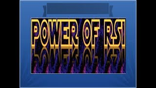 POWER OF RSI- Relative Strength Index