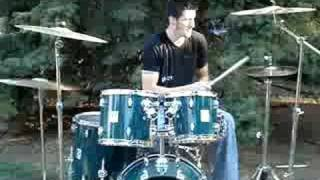 Marc on Drums