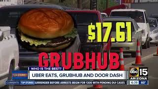 Uber Eats, Grubhub, Door Dash: which is cheapest, most reliable?