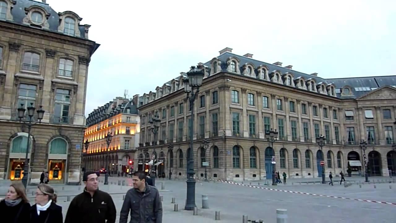 Place vend me paris youtube for Paris vendome gioielli
