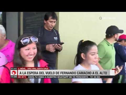 Quiroga y Pedraza acompañarán a Camacho hasta la ciudad de La Paz