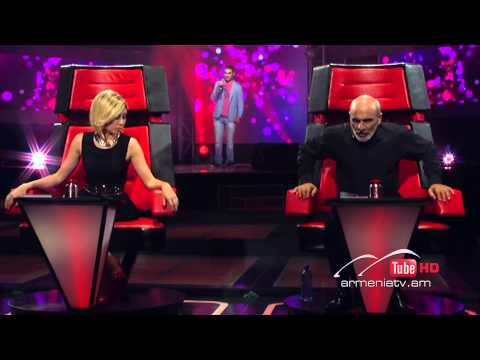 Gosh Sargsyan,Hello By Lionel Richie -  The Voice Of Armenia - Blind Auditions - Season 2
