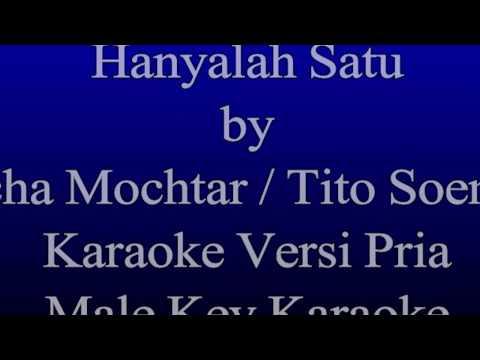 Machicha Mochtar & Tito Soemarsono - Hanyalah Satu Karaoke Versi Pria (Male Key Karaoke)