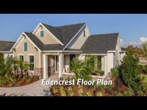 Encore by David Weekley Homes at FishHawk Ranch:  Edencrest Model