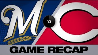 Condensed game: brent suter twirled three scoreless innings and ryan braun homered as the brewers inched within two wins of a playoff berth don't forget to s...
