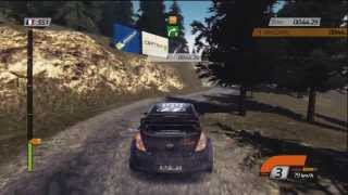 WRC 4 Online Multiplayer Gameplay (Rally France)
