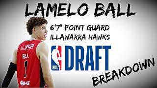 LaMelo Ball Draft Scouting Video   2020 NBA Draft Breakdowns