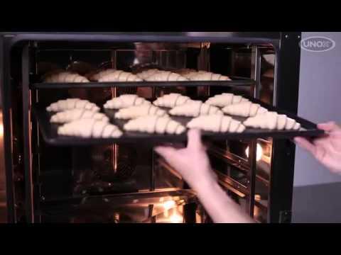 Рецепт UNOX   Как испечь круассаны и пирожные с датскими BakerLux