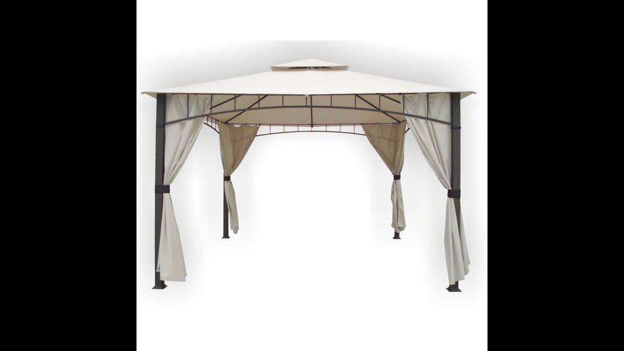 Replacement Canopy For Menards Dc America 10 X 12 Gazebo Lcm878 Youtube