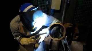 Processo de solda Pulsed Gas Metal Arc Welding (GMAW-P)