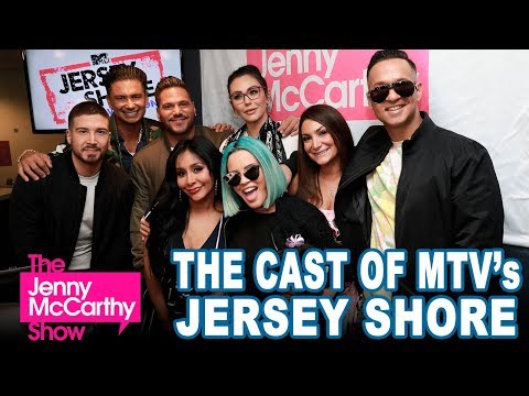 The Cast of MTV's Jersey Shore on The Jenny McCarthy
