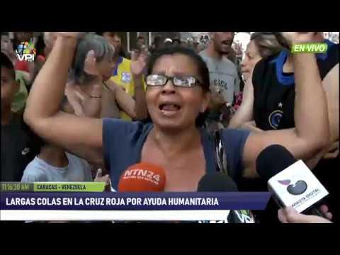 Venezuela - Cruz Roja venezolana entregó pastillas potabilizadoras a caraqueños - VPItv
