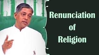 Renunciation of Religion