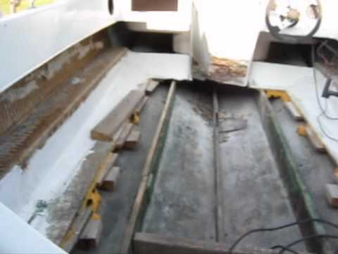 Tri Hull Boat Cap Removal Wmv Youtube
