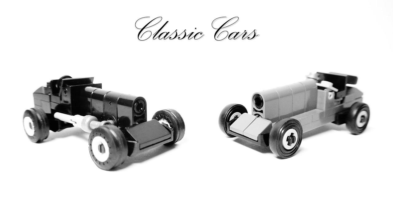 Classic Cars - Microscale Lego Toys - YouTube