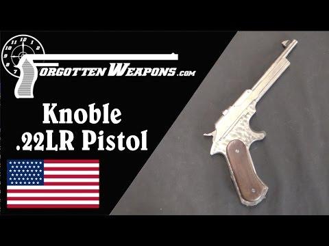 Knoble .22 Rimfire Prototype Pistol