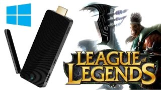 NEXXT PC Stick - League Of Legends test