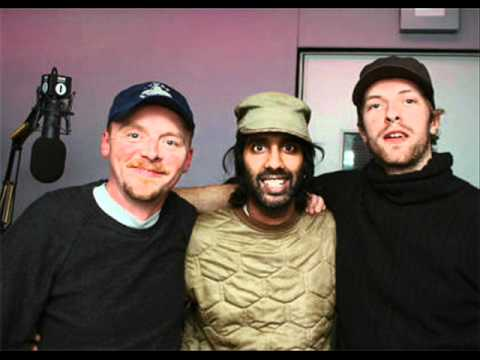 2007-01-18 Chris Martin and Simon Pegg Guest Hosting on Zane Lowe's Show