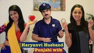 Haryanvi Husband Punjabi Wife | Episode 8 - Kangan | Lalit Shokeen Films