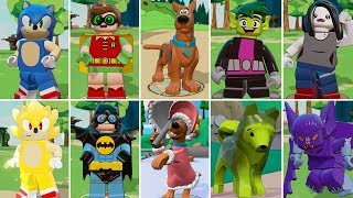 All Character Transformations in LEGO Dimensions (All DLC Included)