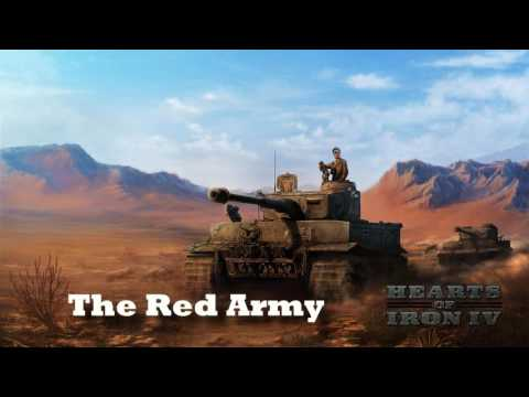 Hearts of Iron IV - The Red Army