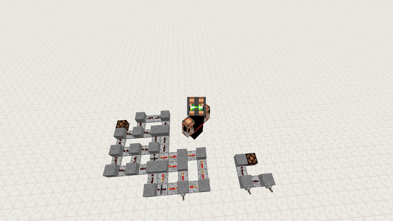 u0026quot not u0026quot  logic gate using only redstone repeaters and solid blocks