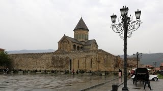 Мцхета, Грузия    1080 HD(Мцхета (მცხეთა) — город в Грузии, при впадении реки Арагви в реку Кура. Основан во 2-й половине 1 тысячелет..., 2014-10-05T21:15:09.000Z)