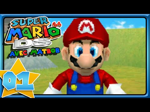 Super Mario 64 DS [#1] - IT'S A ME, MARIO !