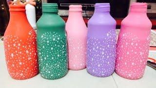 Personalizar garrafas com bexigas
