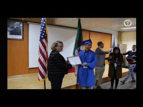 Algerian Youth Graduate from Access Program