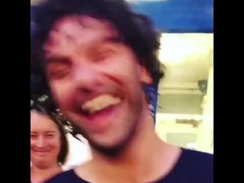 Aidan Turner  Summer 2018  TLOI Stage Door