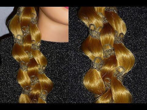 Einfache ud schnelle Frisur zum selber machen. Braid Hairstyle.Peinados