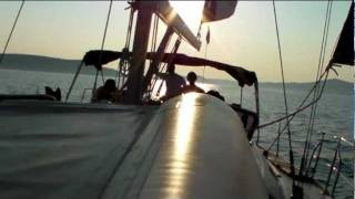 Ep 5 Sailing Out Of Trogir Croatia On The Dalmatian Coast To See Dolphins & Sunset