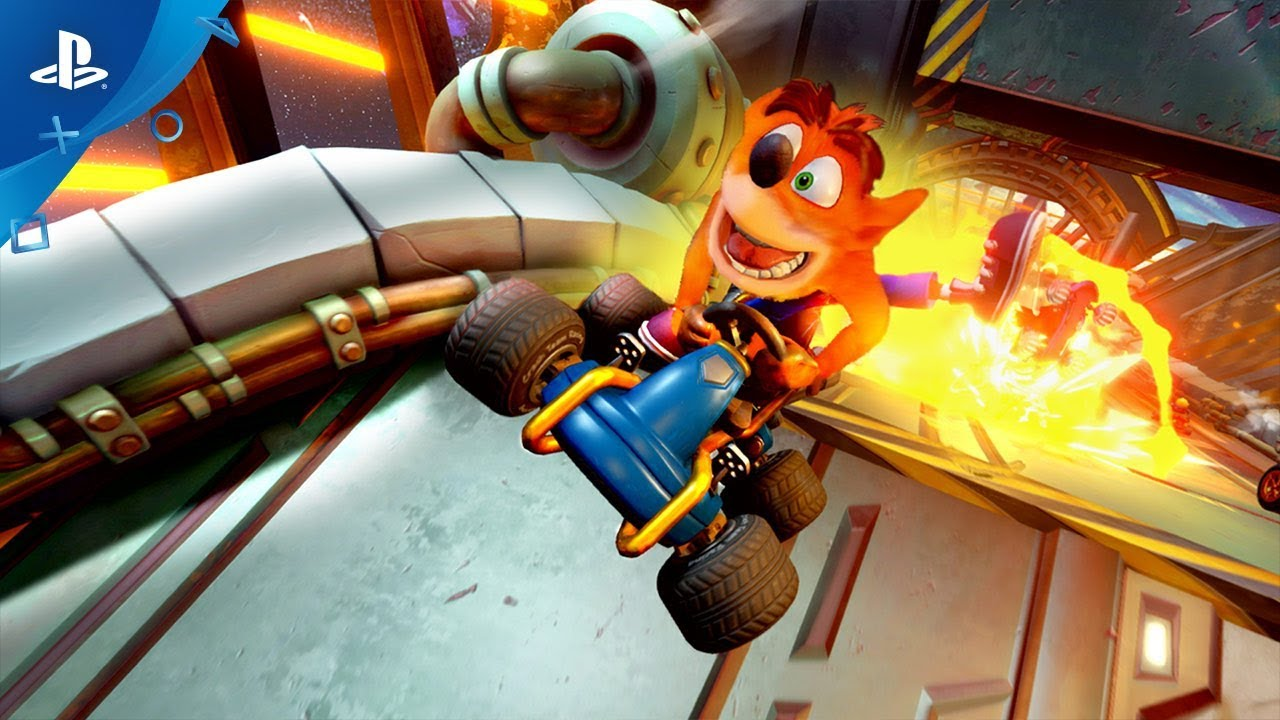 Crash Team Racing Nitro-Fueled - Trailer di lancio dell'azione di gioco | PS4