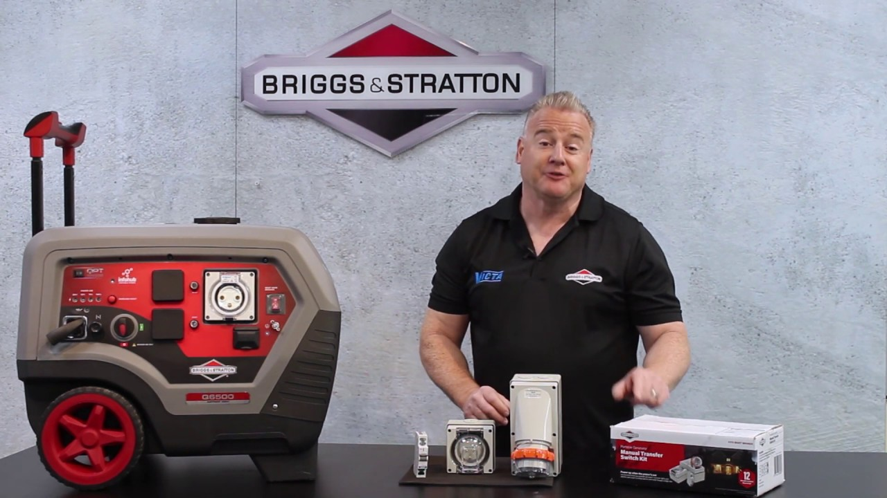 [DIAGRAM_0HG]  Briggs and Stratton Manual Transfer Switch Kit: Features & Benefits -  YouTube | Briggs And Stratton Transfer Switch Wiring Diagram |  | YouTube