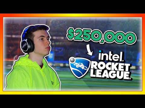 I tried playing in the biggest Rocket League tournament of all time ($250,000)