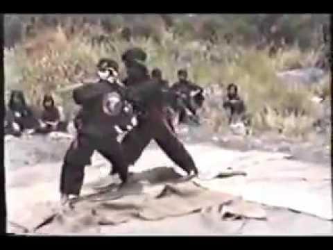 Cimande Jawa Barat Bermain golok