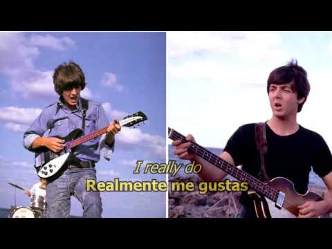 You Like Me Too Much - The Beatles (LYRICS/LETRA) [Original]